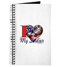 I love My Soldier Logo 1 Journal