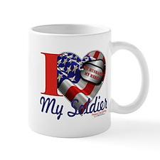 I love My Soldier Logo 1 Mug