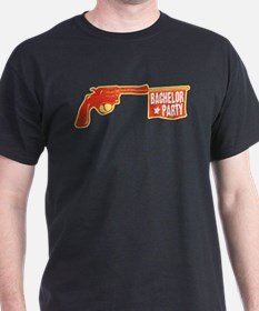 Joke Bachelor Gun T-Shirt