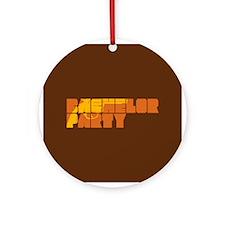 Mafia Bachelor Party Ornament (Round)