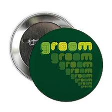 """Green Groom Blox 2.25"""" Button (10 pack)"""