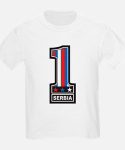 Number One Serbia T-Shirt