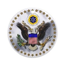 U.S. Seal Ornament (Round)