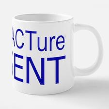 manuFACTureBlue.tif 20 oz Ceramic Mega Mug