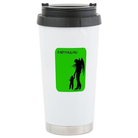 Dadthulhu, Cthulhu father Stainless Steel Travel M