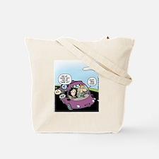 Funny Biker baby Tote Bag