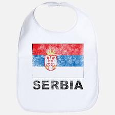 Vintage Serbia Bib