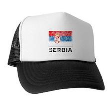 Vintage Serbia Hat