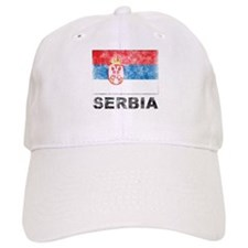 Vintage Serbia Baseball Cap