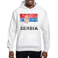 Vintage Serbia Jumper Hoody