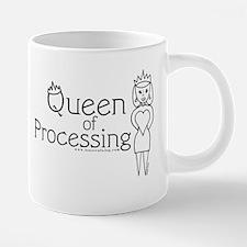17 Queen of Processing Mug. 20 oz Ceramic Mega Mug