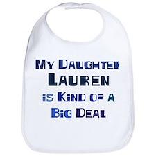 My Daughter Lauren Bib