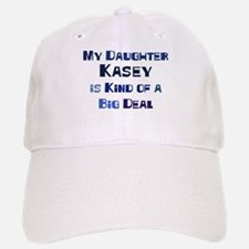 My Daughter Kasey Baseball Baseball Cap