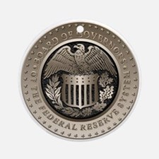 The Federal Reserve Ornament (Round)