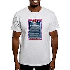 Future Historic Marker Ash Grey T-Shirt