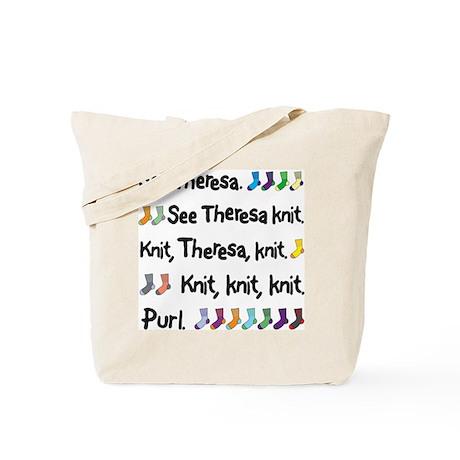 See Theresa Knit Tote Bag