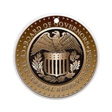 Federal Reserve Ornament (Round)