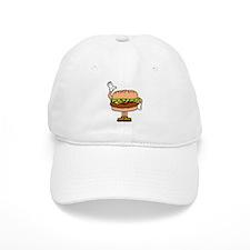 Burger Man Baseball Cap