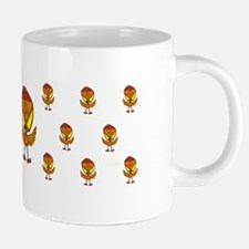 angry chicken mug pattern.p 20 oz Ceramic Mega Mug