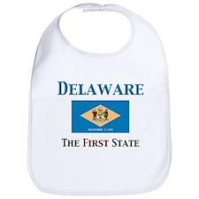 Delaware 1st State Bib