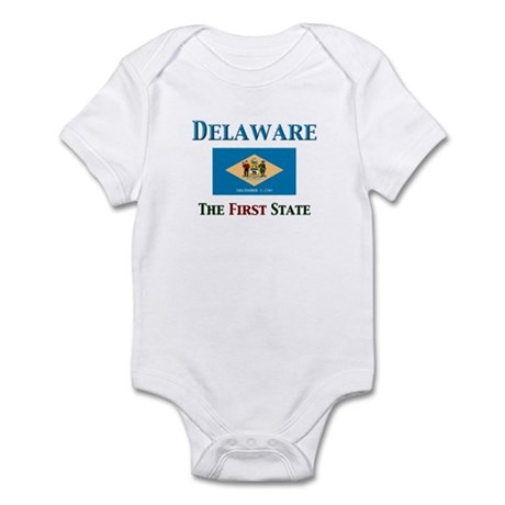 Delaware 1st State Infant Bodysuit