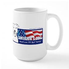 2-AmericasDogLogo Mugs