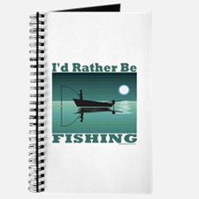 I'd Rather Be Fishing Journal