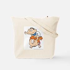 Cute Baby blues comic Tote Bag