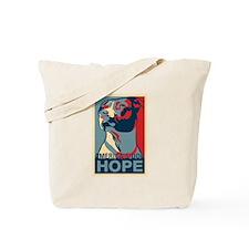 Cute Pitbulls of america Tote Bag