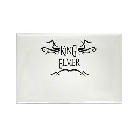King Elmer Rectangle Magnet