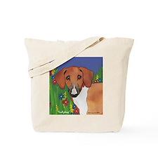 Boxer Santa Tote Bag