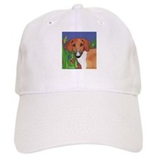 Boxer Santa Baseball Cap