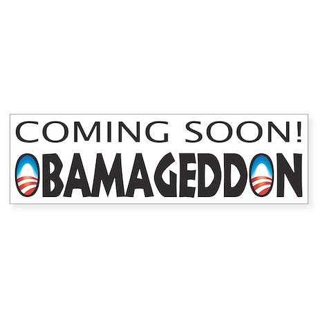 OBAMAGEDDON Bumper Sticker