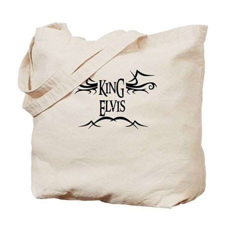 King Elvis Tote Bag