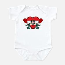Heart Austria Infant Bodysuit