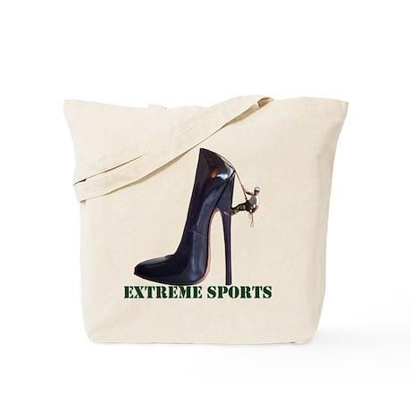 Extreme Sports - Shoe Climbing Tote Bag