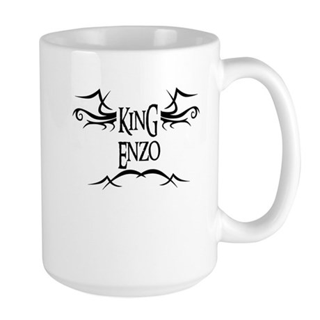 King Enzo Large Mug
