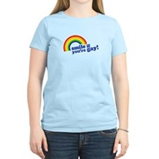 Smile if your gay! T-Shirt