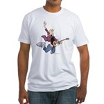 Rock Star Jeremy Fitted T-Shirt