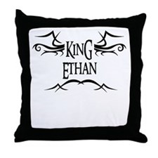 King Ethan Throw Pillow