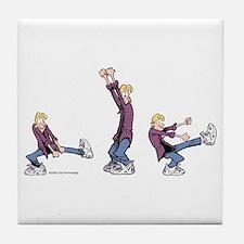 Dancing Jeremy Tile Coaster