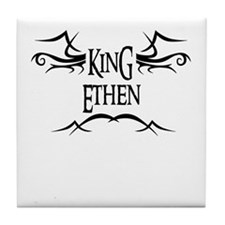 King Ethen Tile Coaster