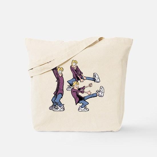 Dancing Jeremy Tote Bag