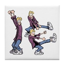 Dancing Jeremy Tile Coaster