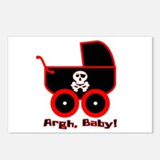 Argh, Baby! Postcards (Package of 8)