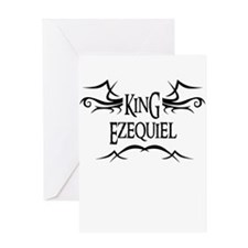 King Ezequiel Greeting Card