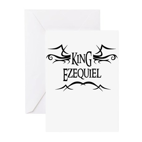 King Ezequiel Greeting Cards (Pk of 10)
