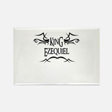 King Ezequiel Rectangle Magnet