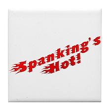 Spanking's Hot! Tile Coaster