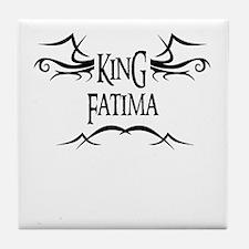 King Fatima Tile Coaster